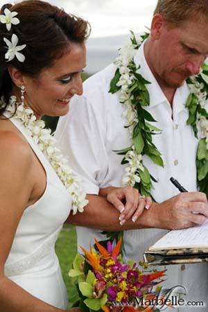 Bride amp Groom  Kauai Island Weddings